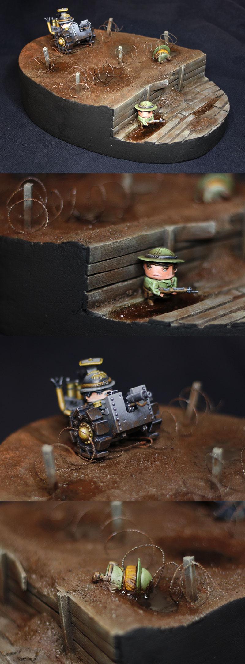 Rivet Wars diorama