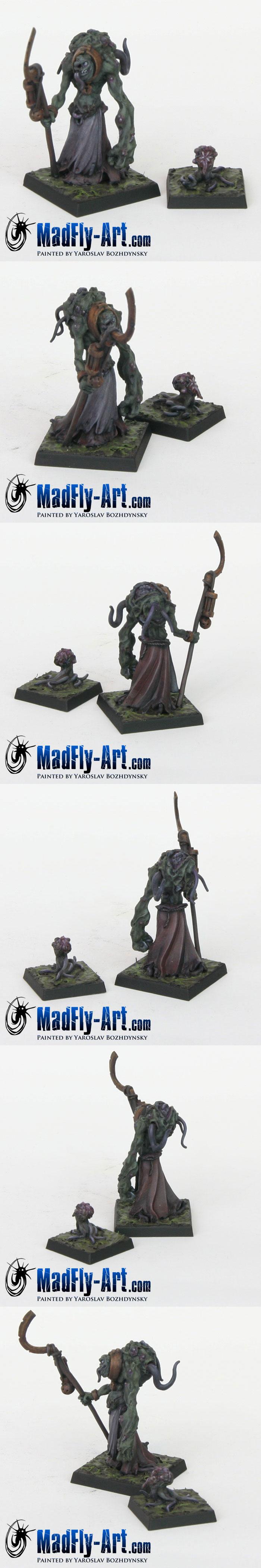 Sorcerer of Pestilence with familiar