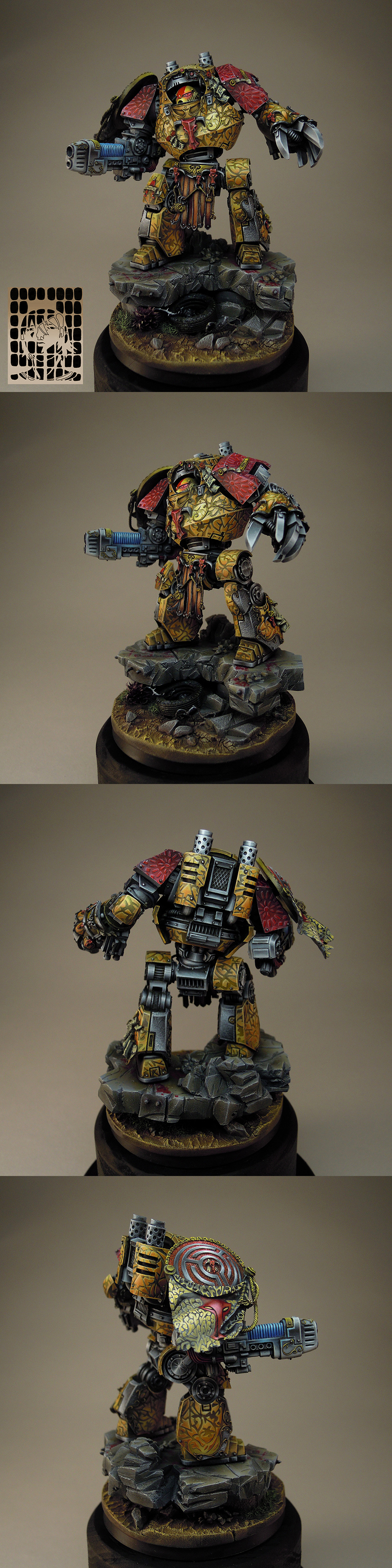 Hecaton Aiakos Minotaurs Contemptor Dreadnought, Nice Day Ver.