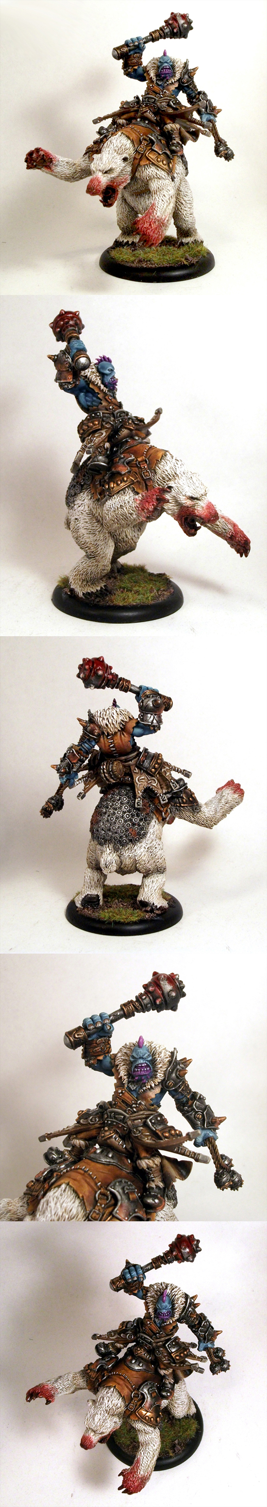 Epic Borka Trollbloods Warlock
