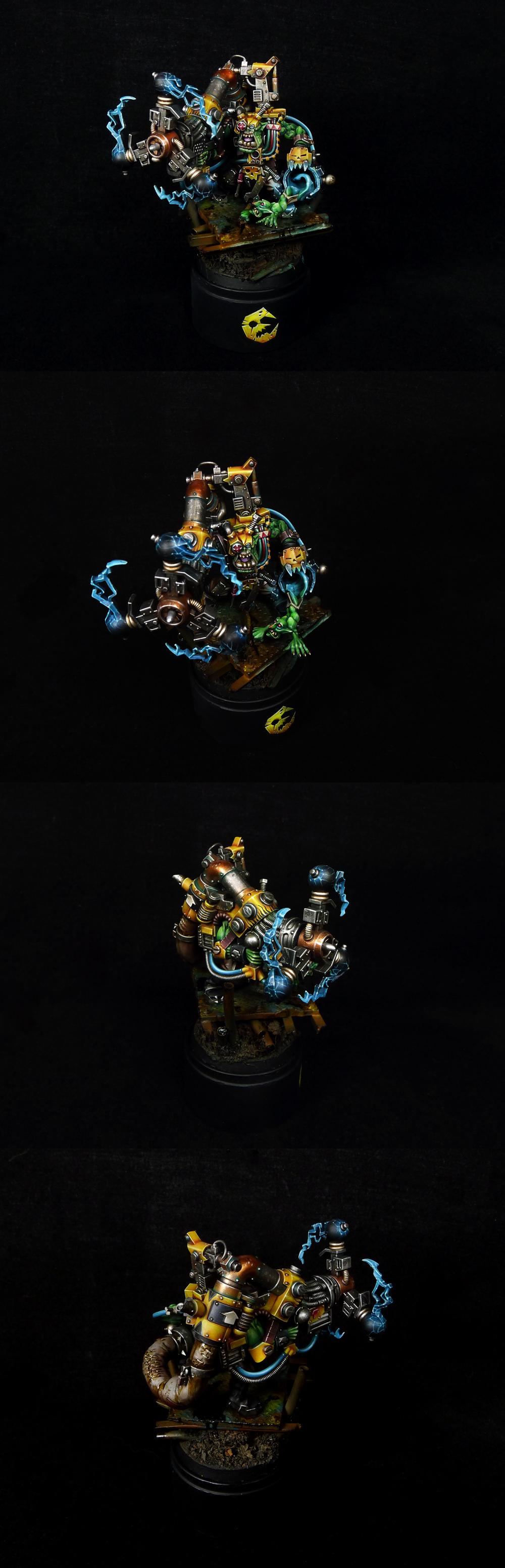 Ork Mek with Shokk Attack Gun