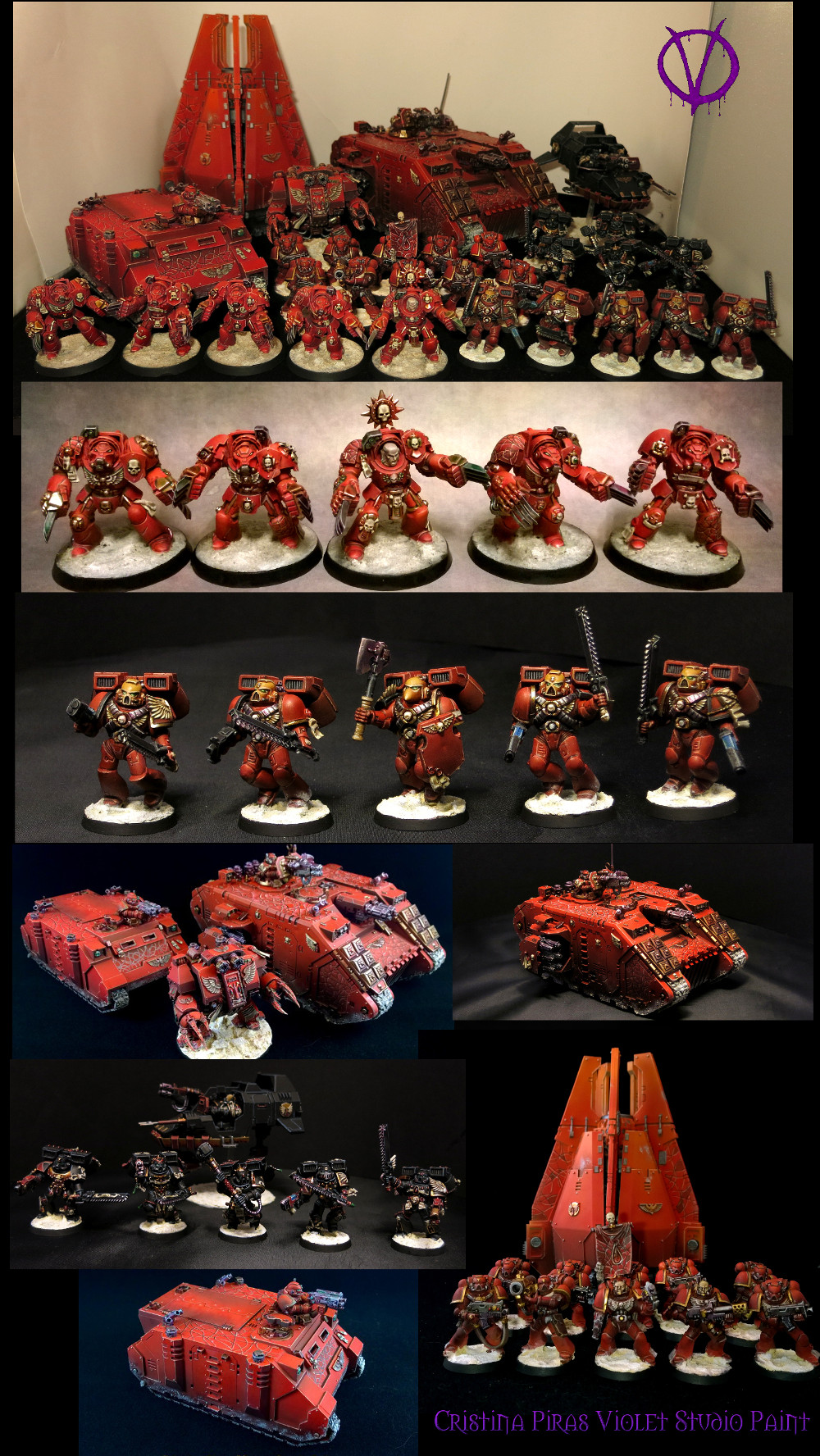 Blood Angels Army 2014