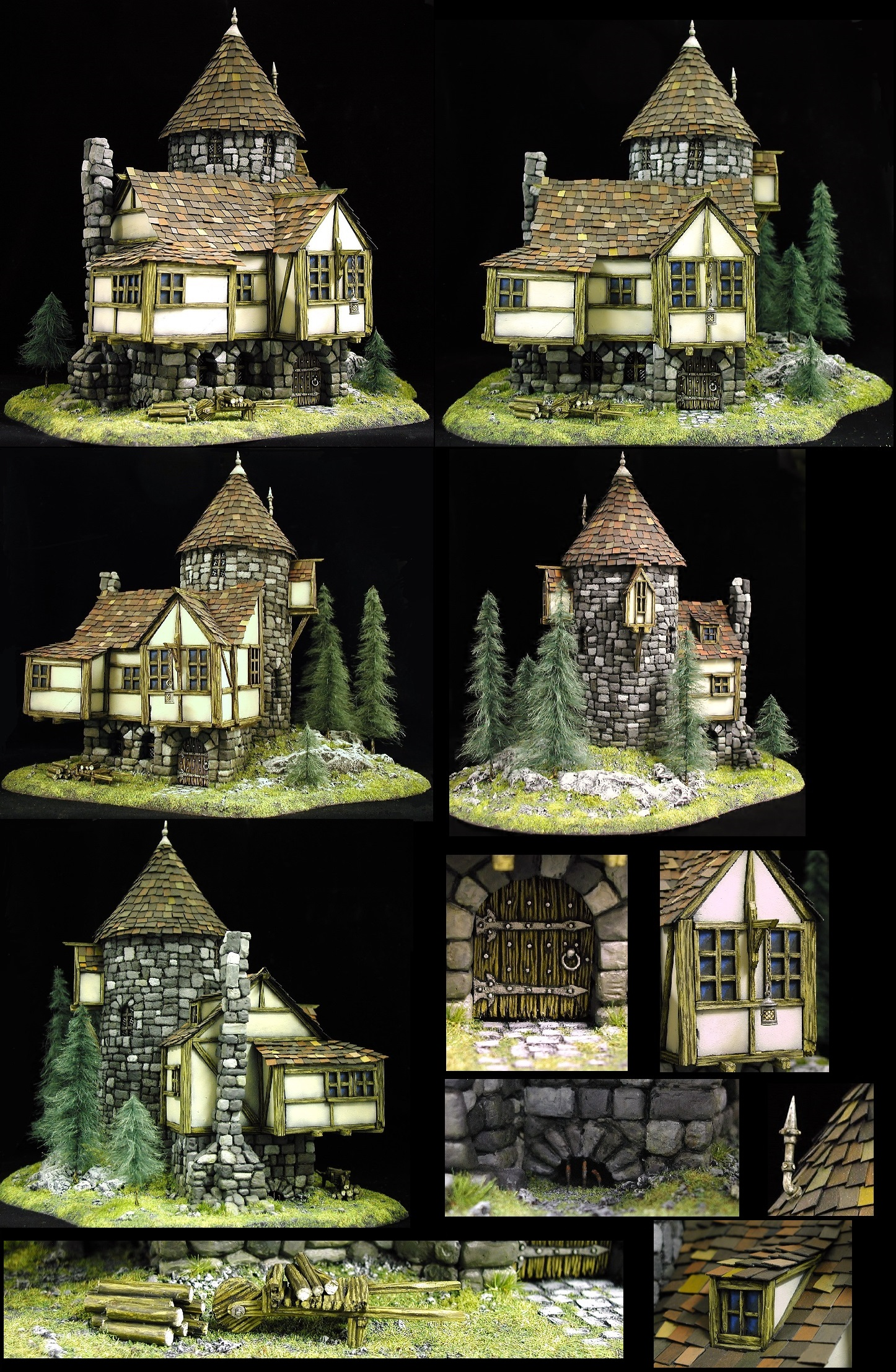 Coolminiornot Tower House By Twitch