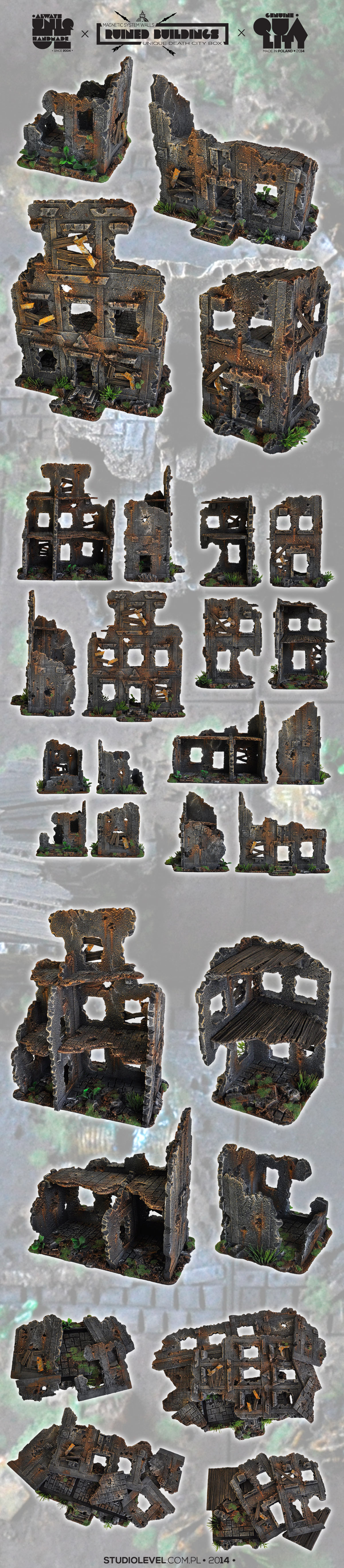 RUINED BUILDINGS BOX