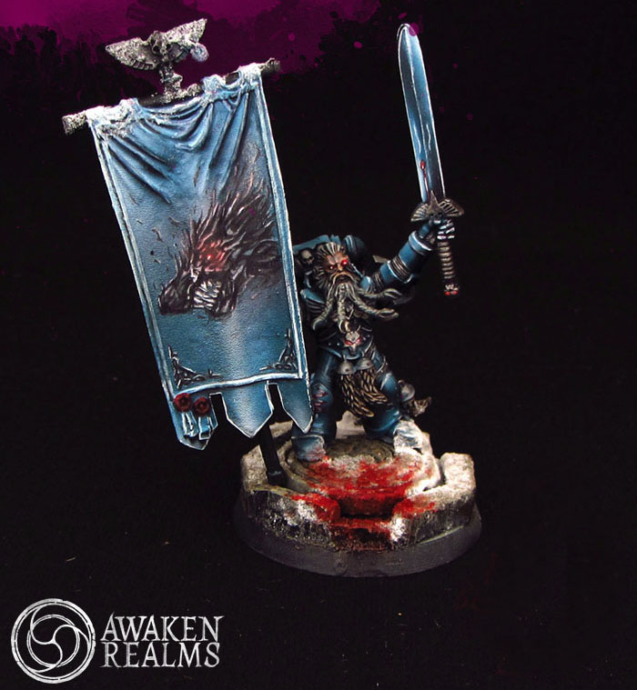 Space Wolves Banners CoolMiniOrNot -...