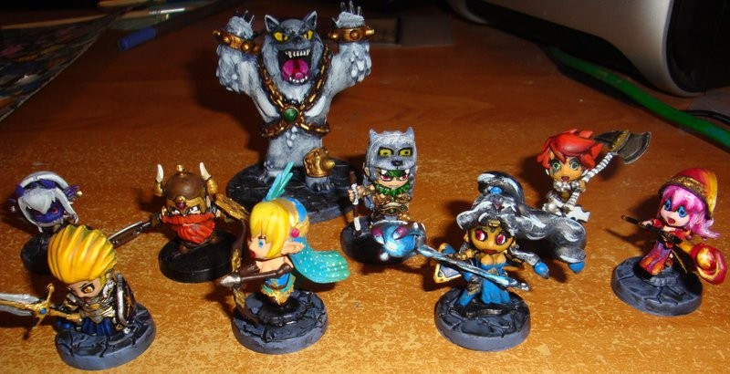 Heroes of Super Dungeon Explore