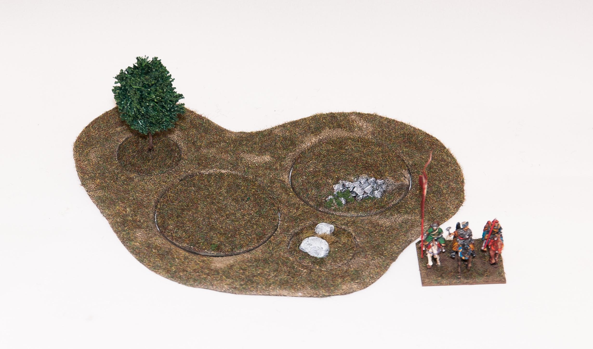 Hard terrain - Modular terrain system v.0.1
