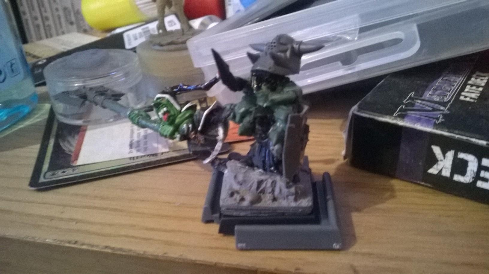 Night Goblin Black Orc Warboss