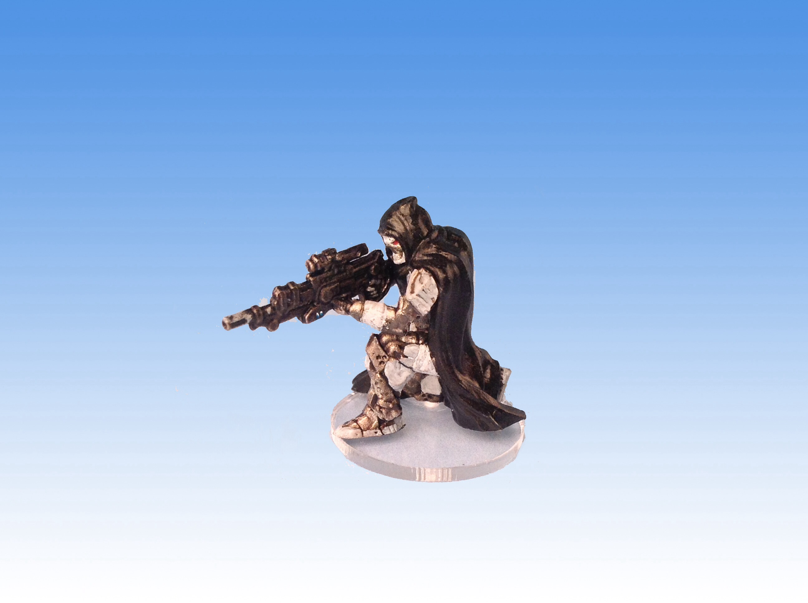 CoolMiniOrNot - Mantic Deadzone Enforcer Sniper by Boston Miniature