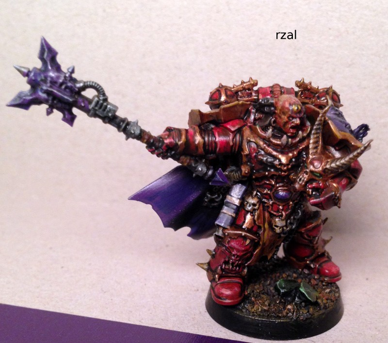Chaos Warrior with Mace