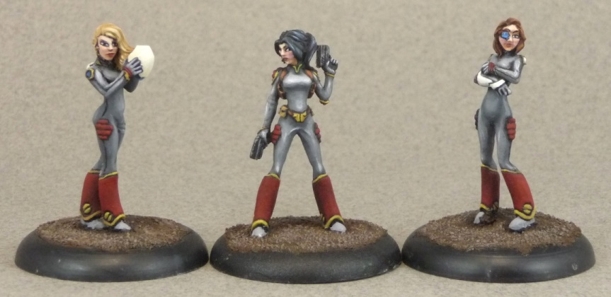 Effigy Miniatures Spaceship Crew