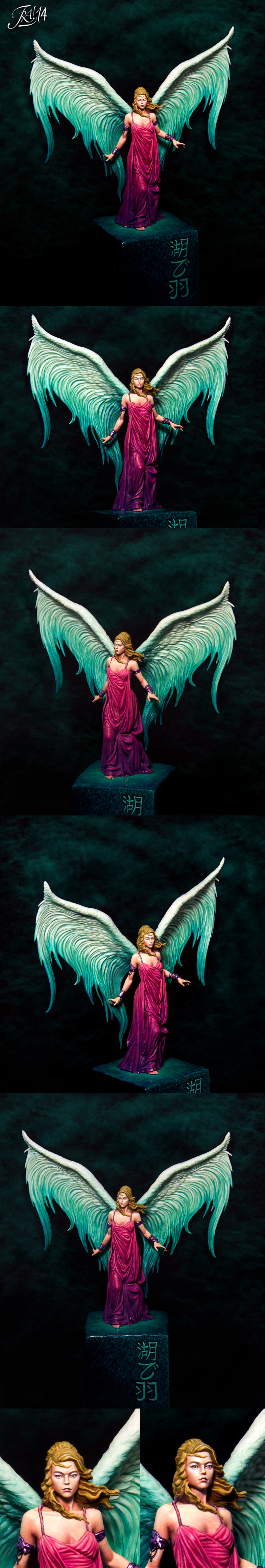 Wings over the lake (lilith)