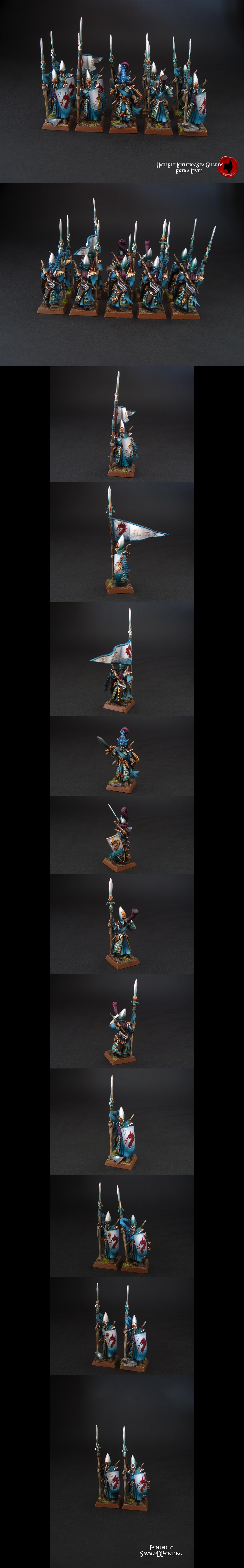 High Elf Lothern Sea Guards