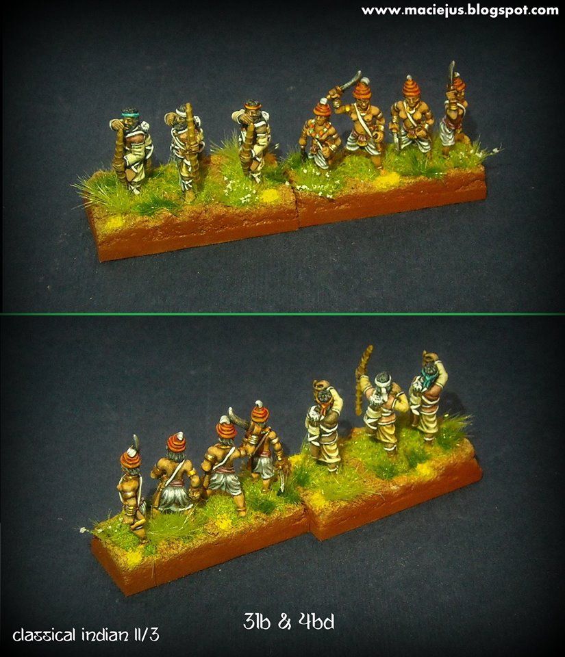 Classical Indian 15mm , bows and blades