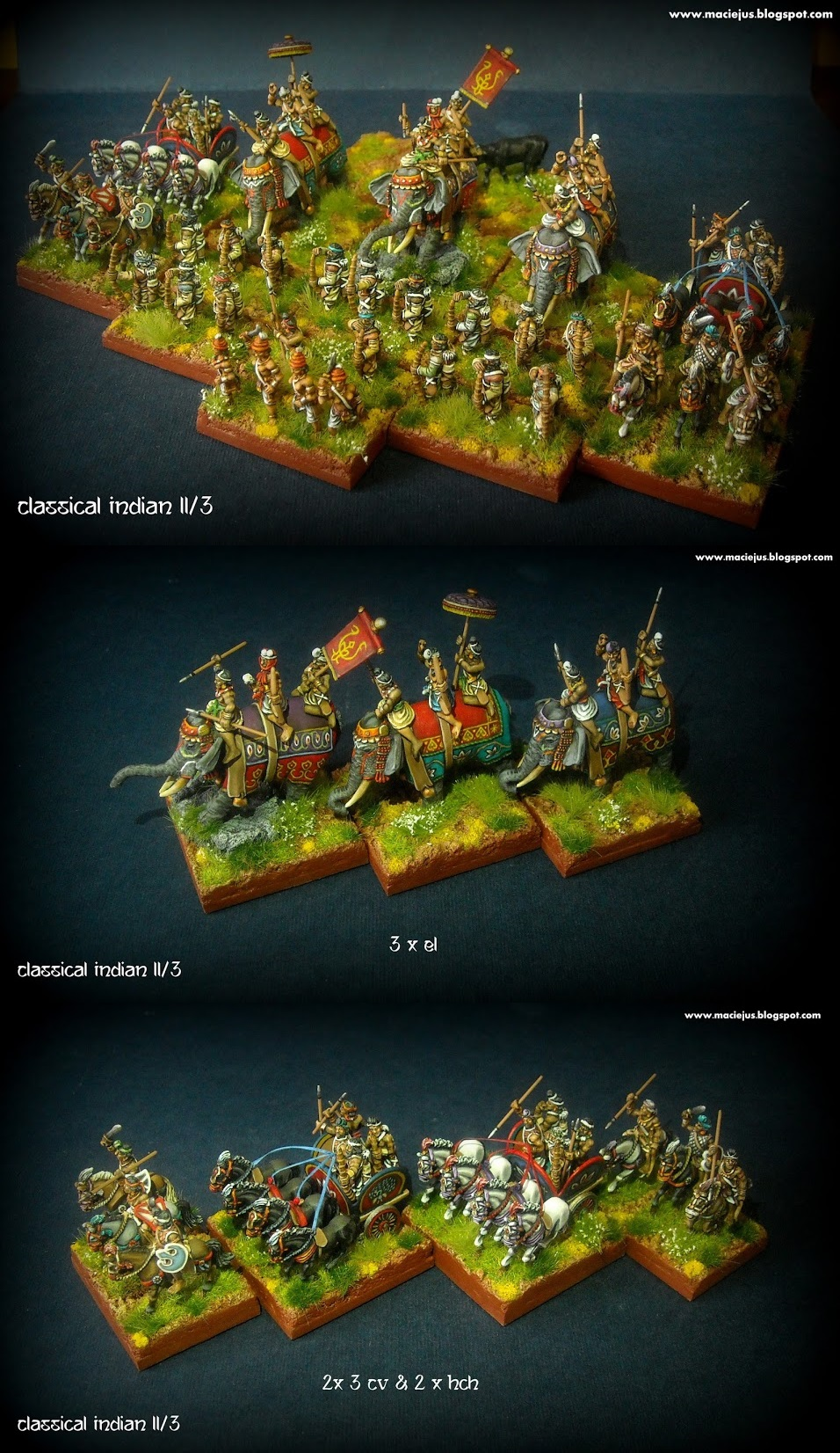 Classical Indian 15mm DBA army