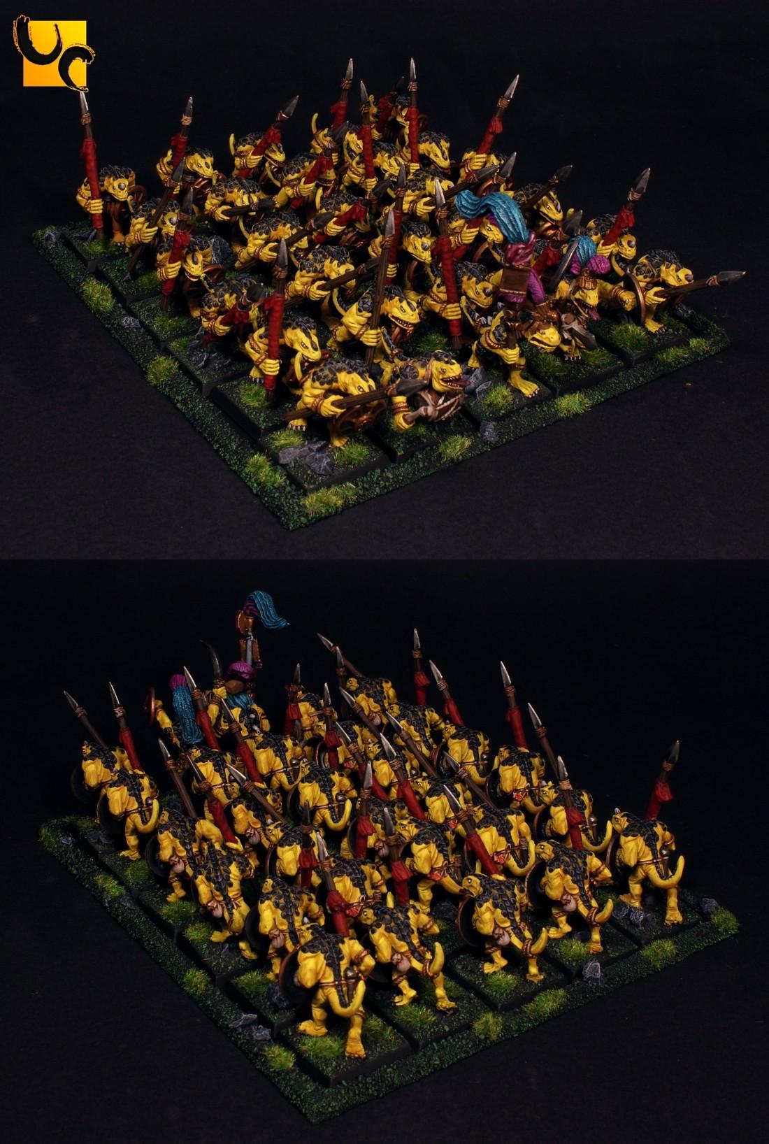 Saurus Warrior Regiment