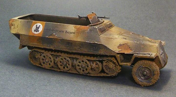 WWII German halftrack