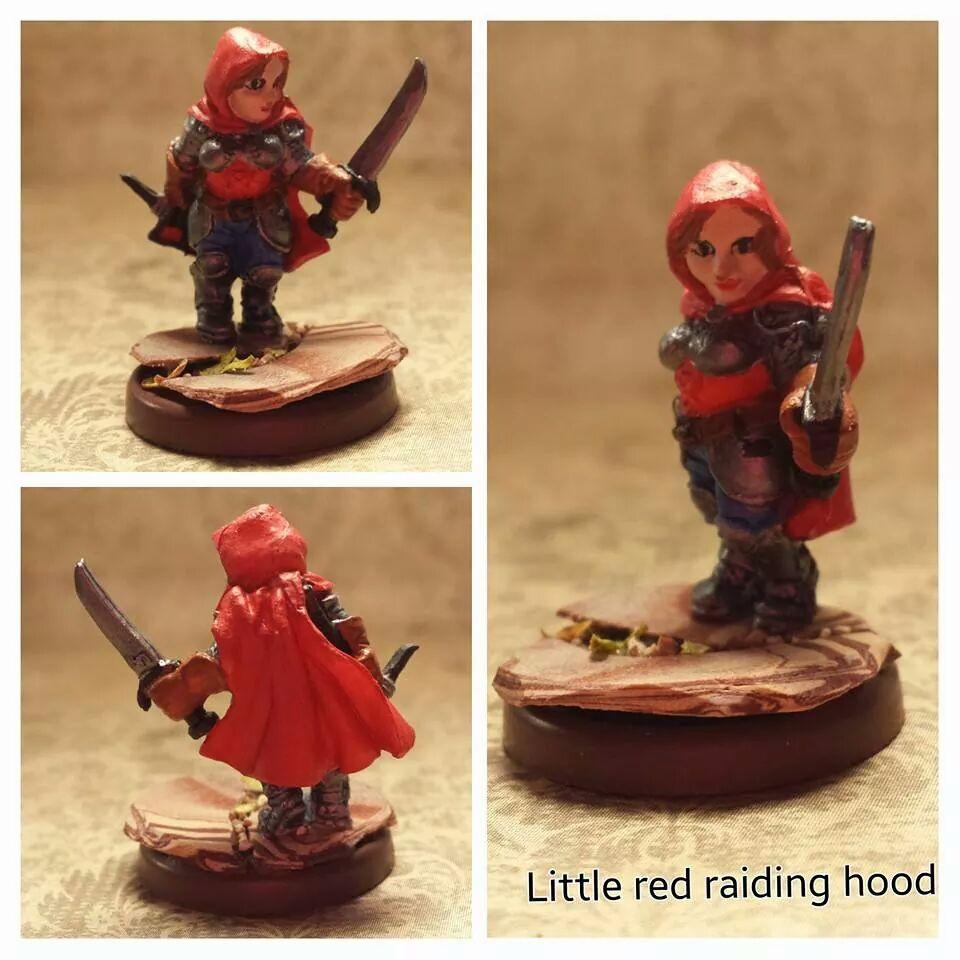 Little red raiding hood