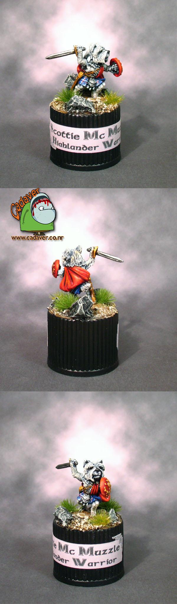 Scottie McMuzzle Highlander Warrior