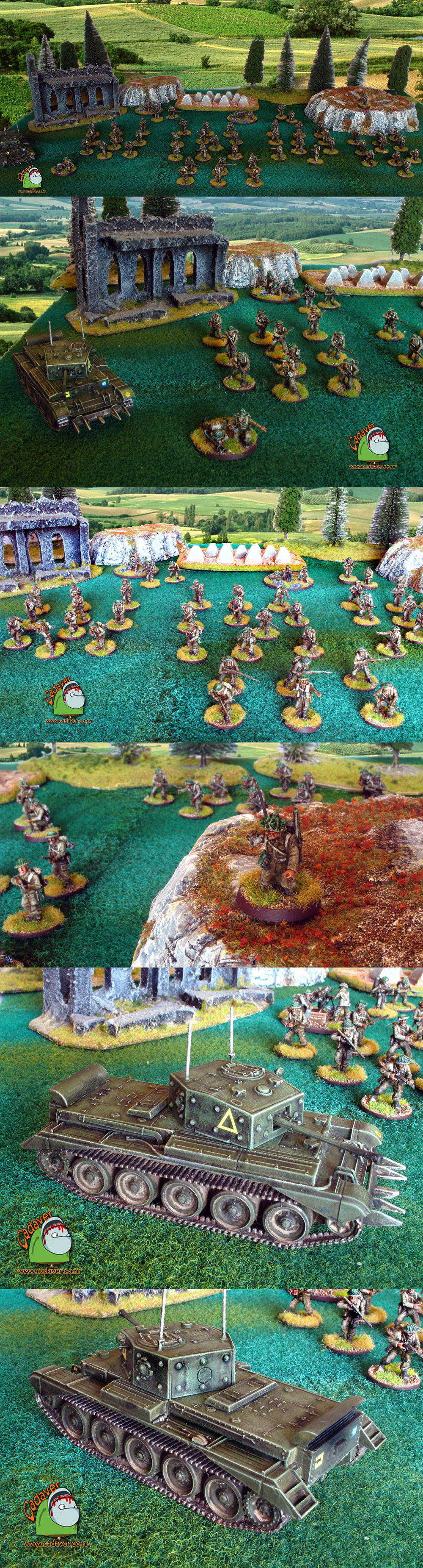 Bolt Action World War 2 British army