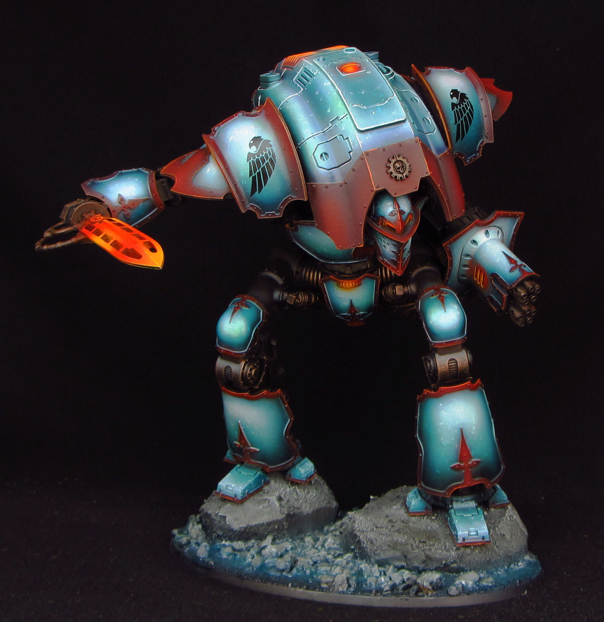 Matt Sterbenz Miniature Painting Forge World Avatar: Forge World Imperial Knight Castigator By