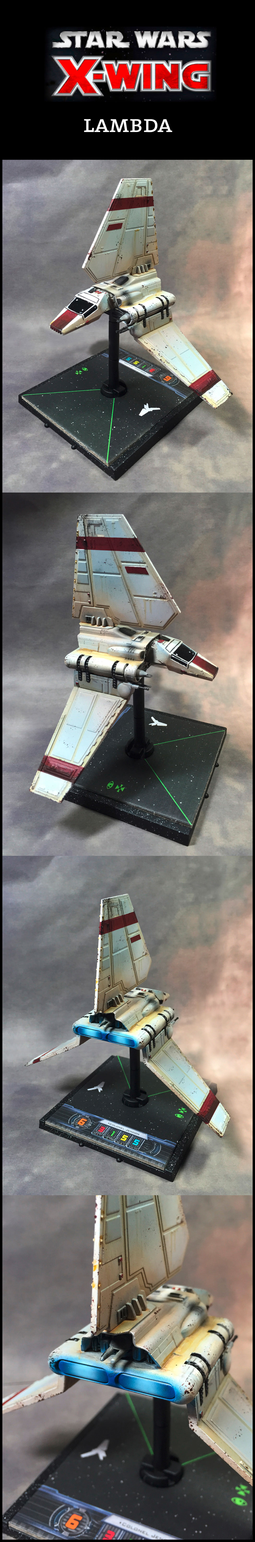 X-Wing Miniatures Lambda Shuttle