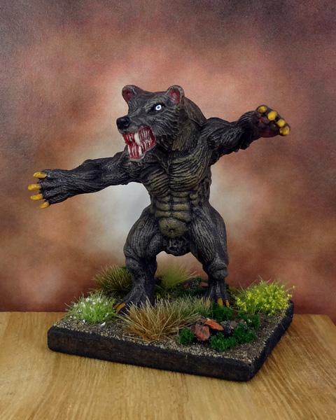 Dire Were-Bear