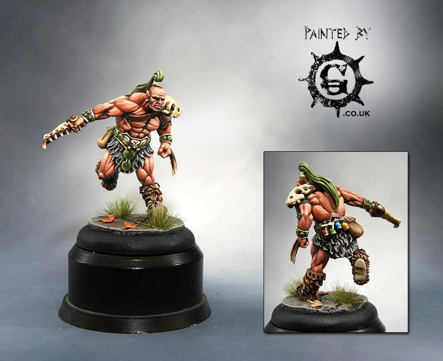 Half Orc Druid