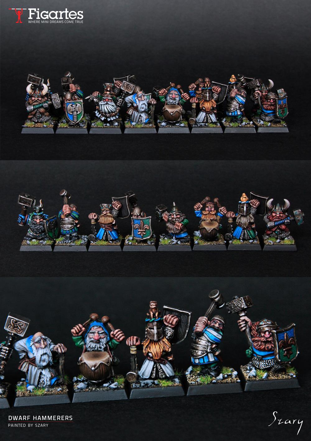 Dwarf Hammerers unit