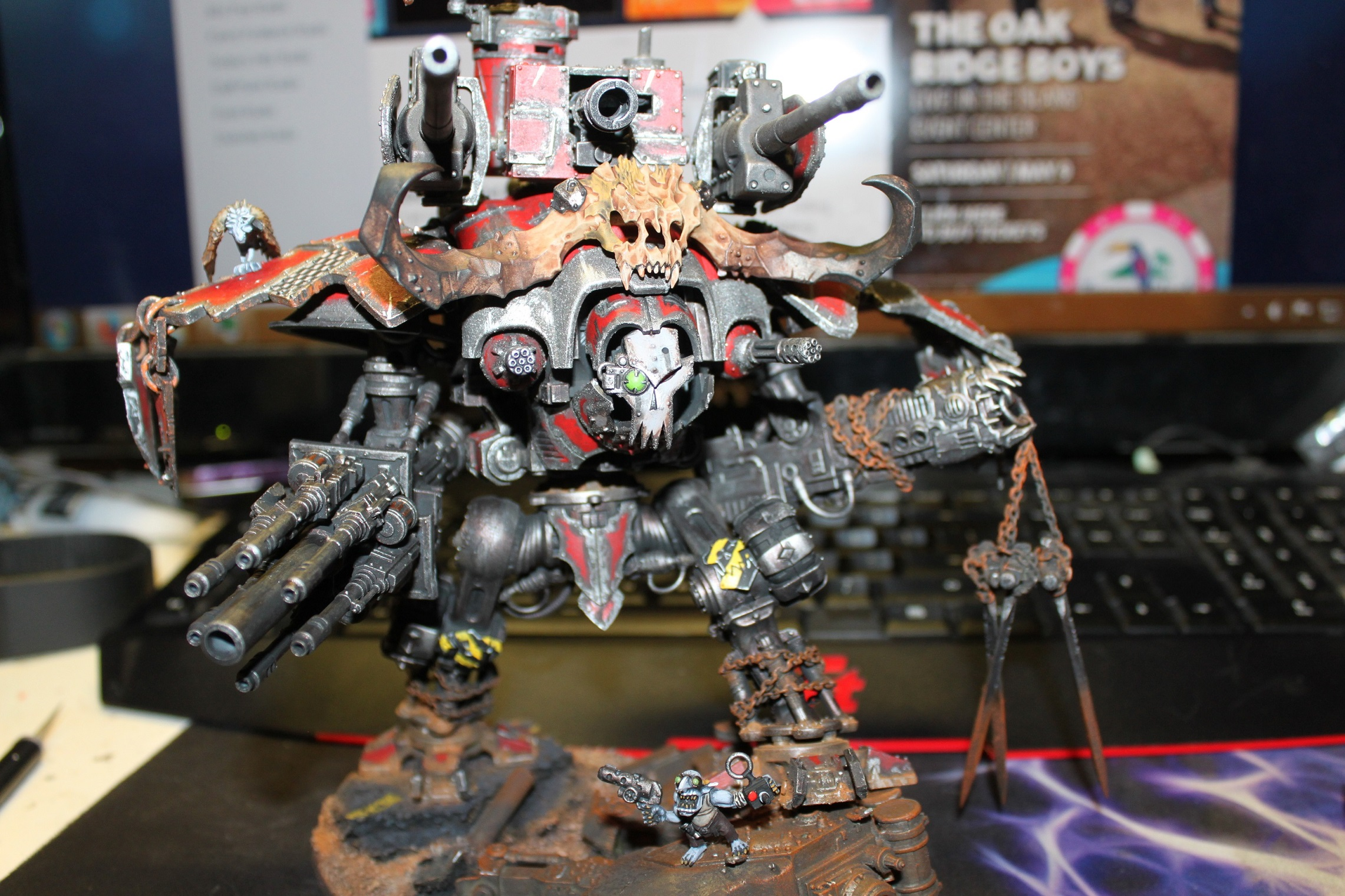 Coolminiornot Ork Imperial Knight By Biblefight