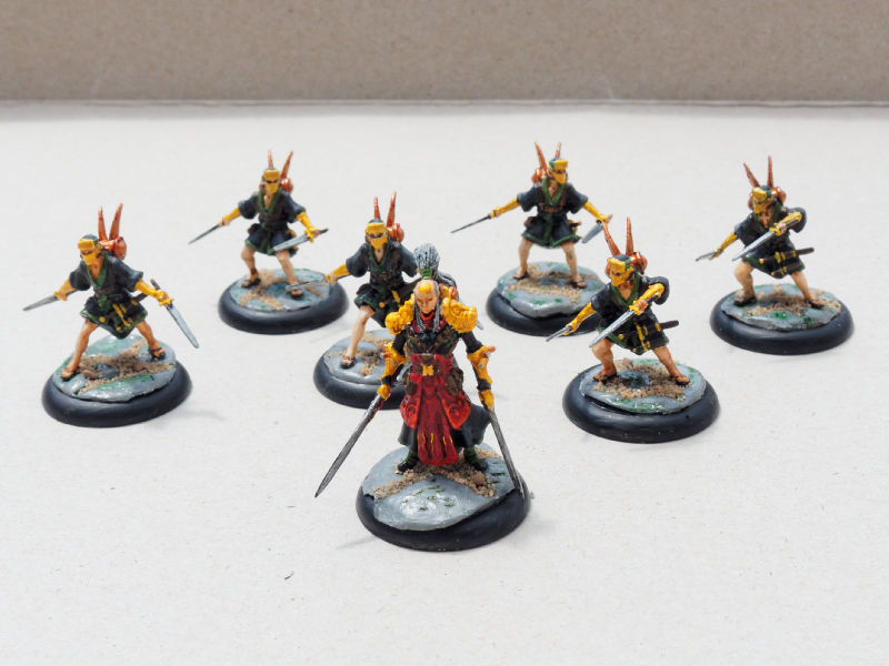 Wrath of Kings: Shael Han Dragon Legion Squad