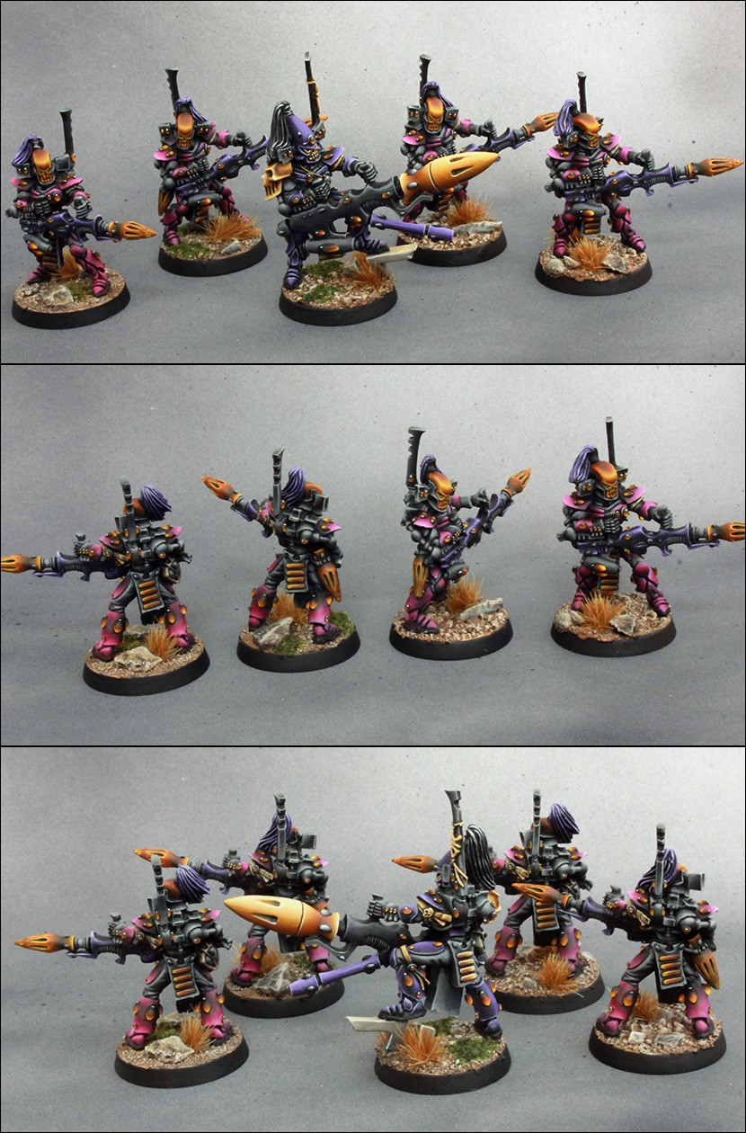 Craftworld Eldar Dark Reaper Squad
