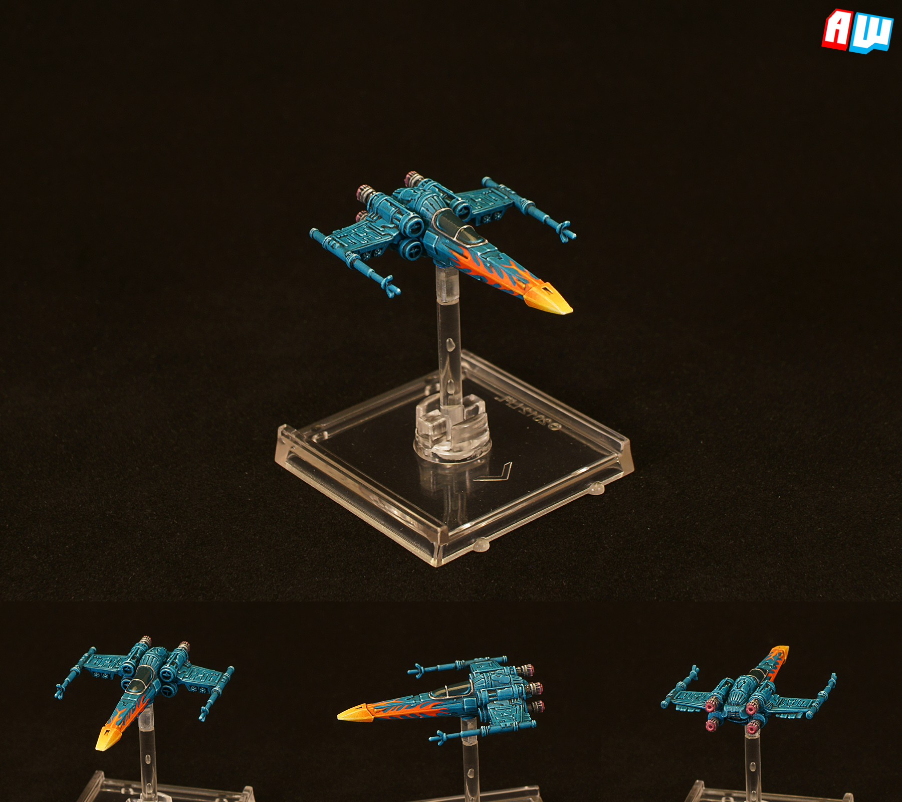 Star Wars X-wing: Scum & Villainy Z-95 By