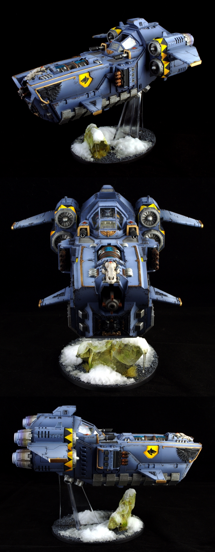 CoolMiniOrNot - Stormfang Gunship by ScootyPuffJunior