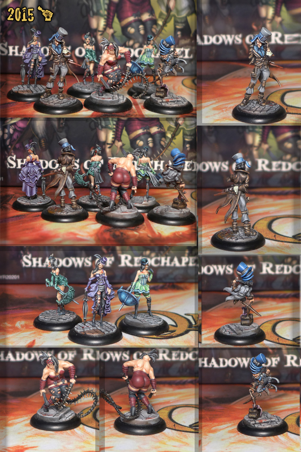 Scar_hand Painting - Malifaux Shadows of Redchapel Crew by Nazroth