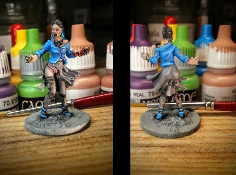 Zombicide zombie woman