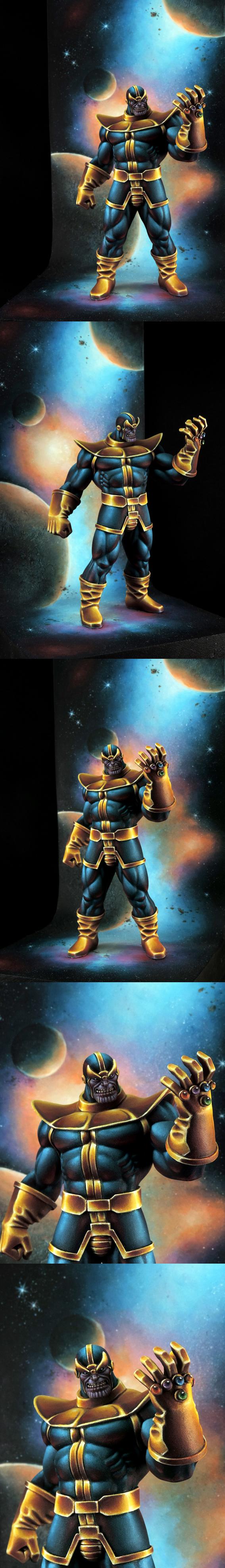 Thanos , the mad Titan