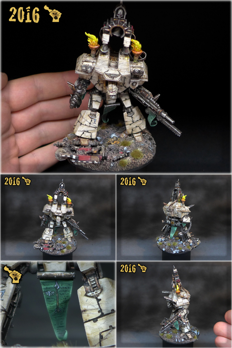 Scar_hand Painting - Epic 40,000 Warlord Titan by Nazroth