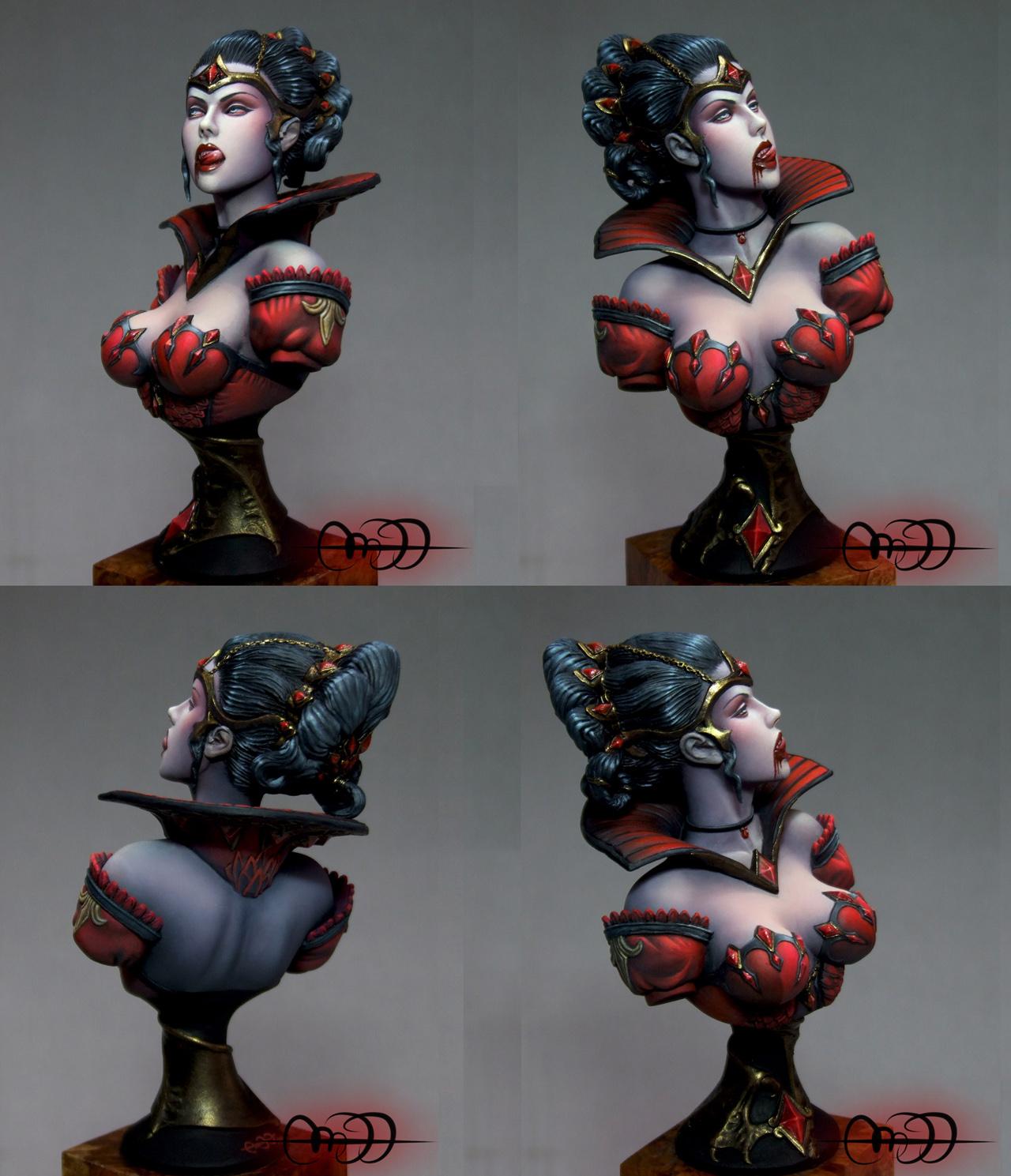 Kharis, vampire queen bust - Kabuki Studio