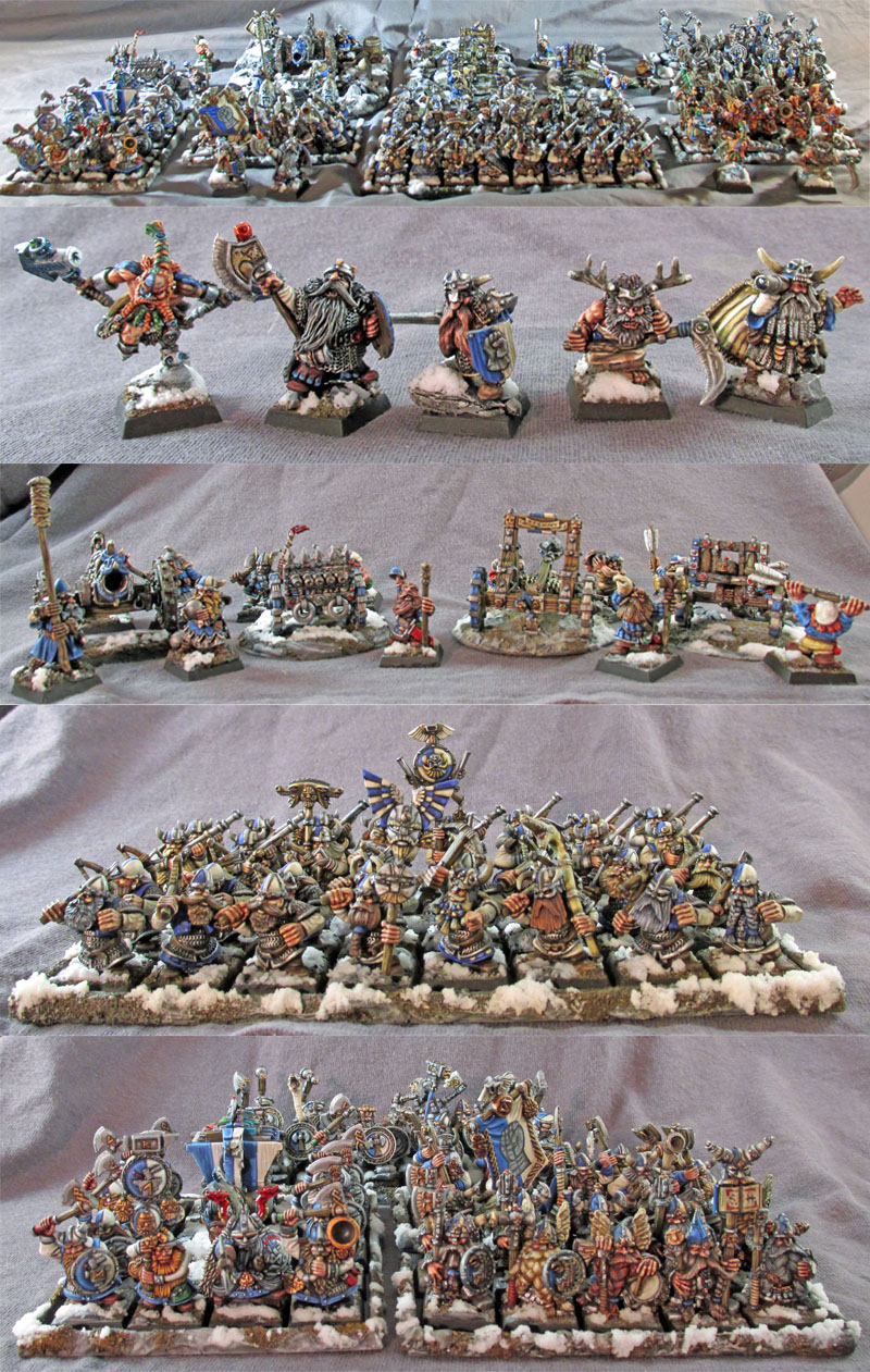 2000 point Dwarf Army