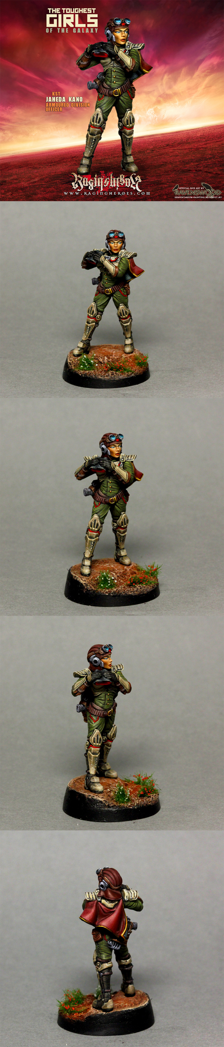 Jaheda Kano armored division officer
