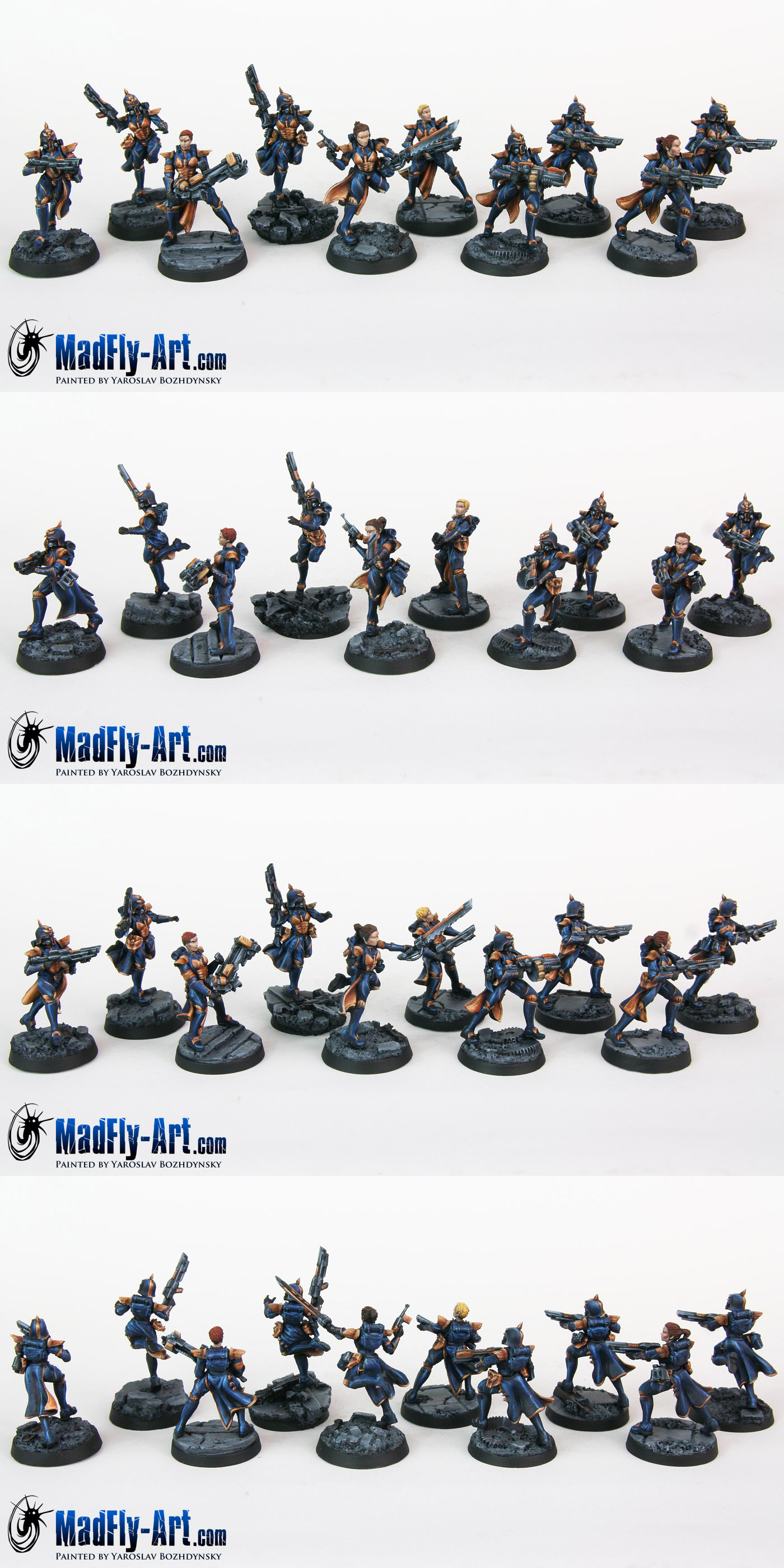 Iron Empire Reapers Troops