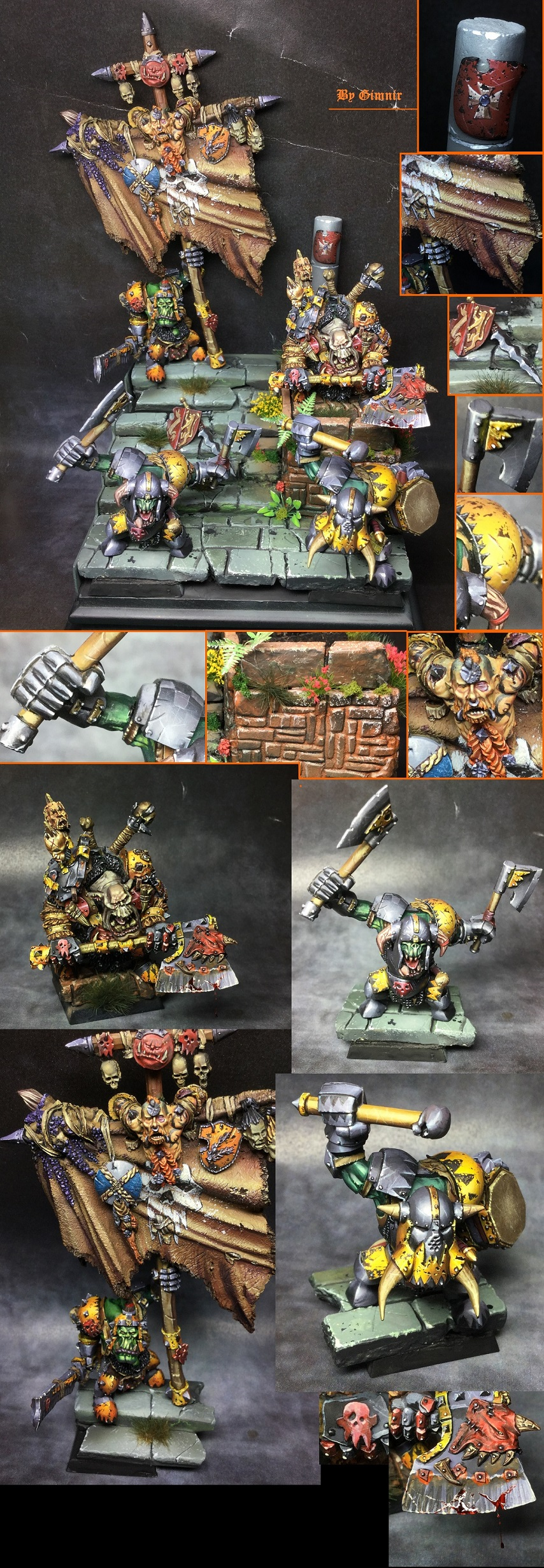 Black orcs forgeworld-orcos negros forgeworld