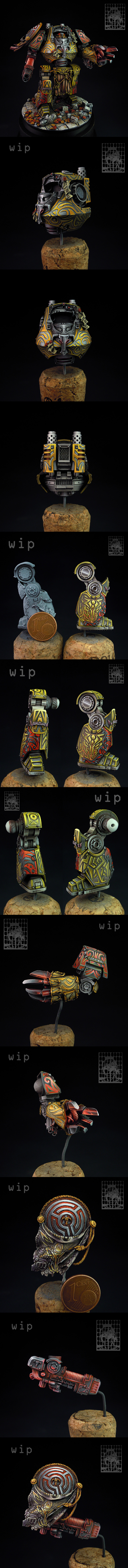 Hecaton Aiakos Dreadnought, details.