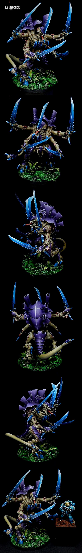 Maître des essaims (Swarmlord) Tyranide