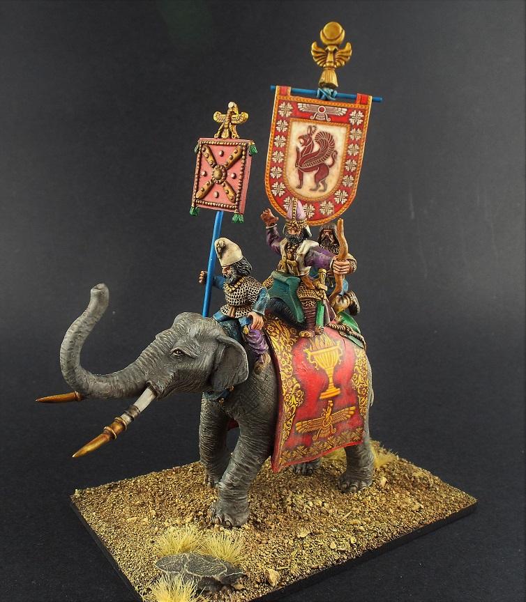 28mm Sassanid Kings Elephant Aventine