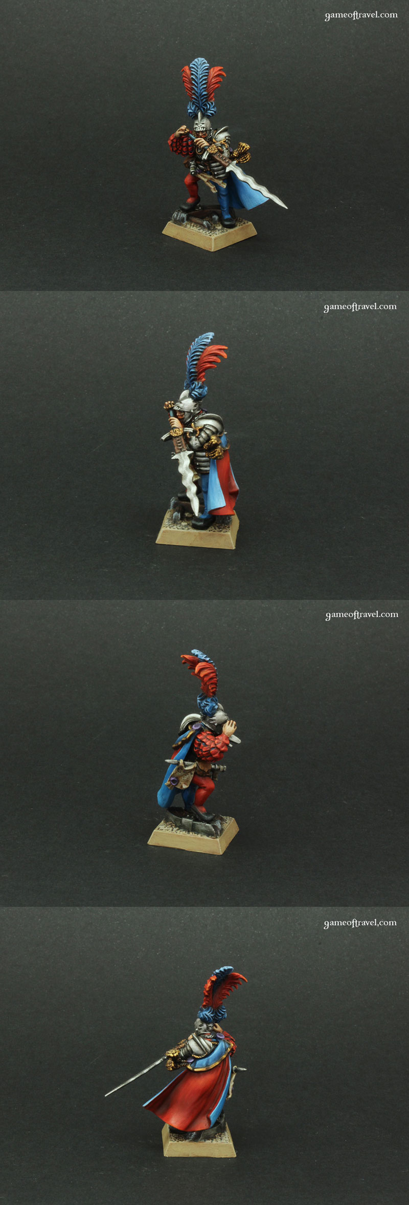 Warhammer Fantasy Empire Captain