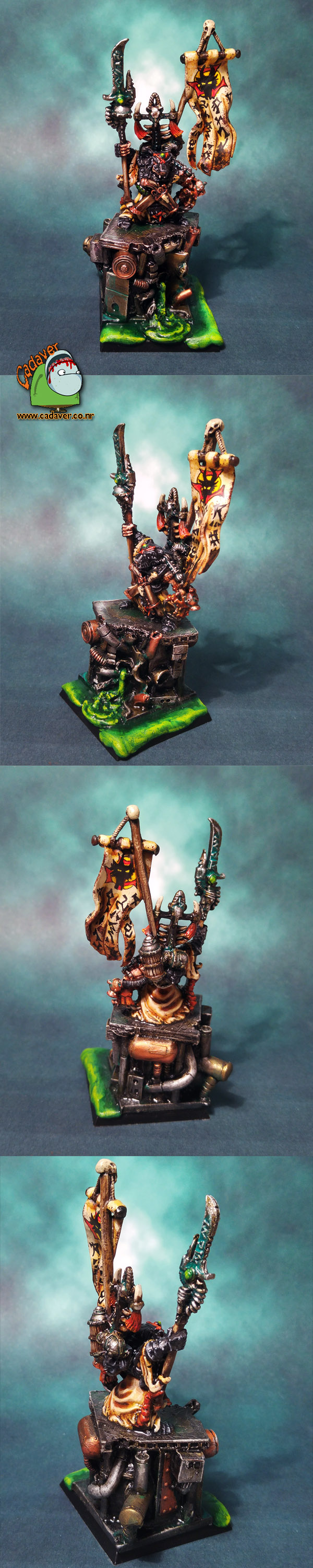 Skaven Chief Warlord Engineer Ikit Claw