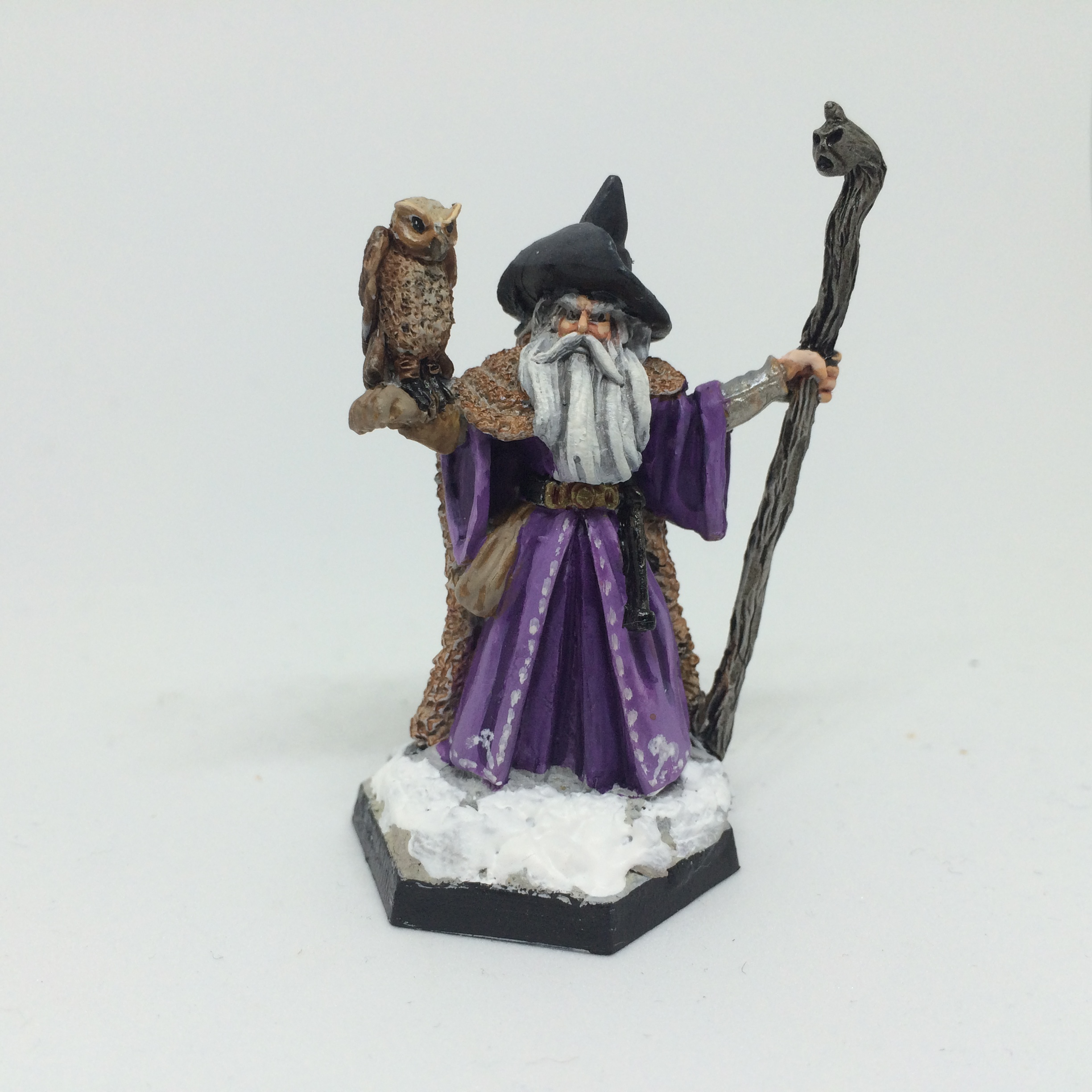 Frostgrave wizard (Reaper's Amathor, Arch Mage)