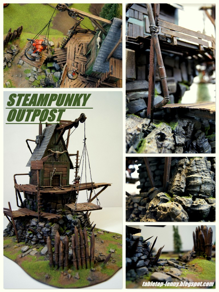 Steampunk Wilderness Outpost